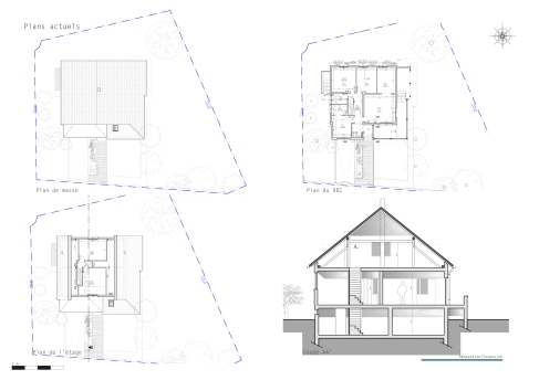 A Projet 1 Rénovation Extension_plans actuels