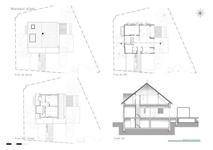 B Projet 1 Rénovation Extension_nouveaux plans