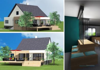 F Projet 1 Rénovation Extension_vues 3D1
